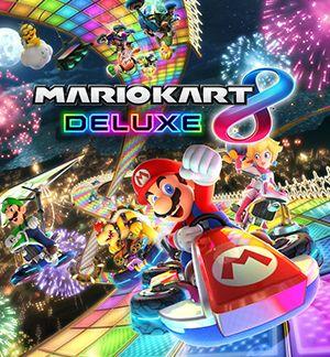 Mario Kart 8 Deluxe Mulitplayer Splitscreen