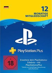 PS Plus 12 Monate günstig