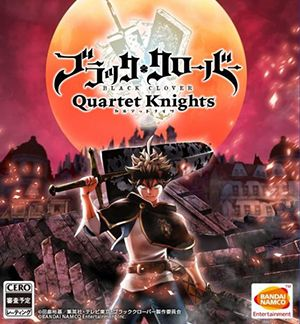 Black Clover Quartet Knights Multiplayer Splitscreen