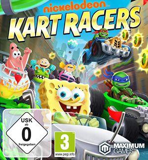 Nickelodeon Kart Racers Multiplayer Splitscreen