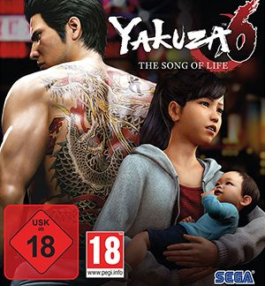 Yakuza 6 The Song of Life Multiplayer Splitscreen