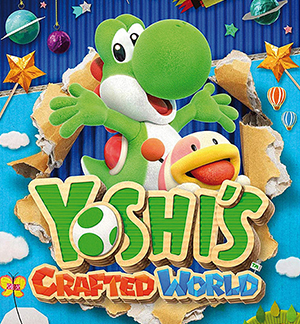 Yoshi's Crafted World Multiplayer Splitscreen