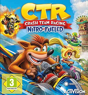 Crash Team Racing: Nitro Fueled Multiplayer Splitscreen