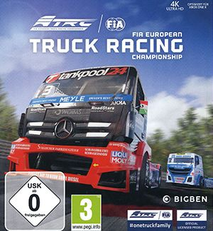 FIA European Truck Racing Championship Multiplayer Splitscreen