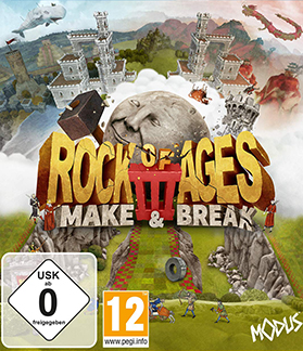 Rock of Ages 3 Make and Break Multiplayer Splitscreen