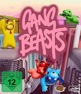 Gang Beasts lokaler Multiplayer Splitscreen