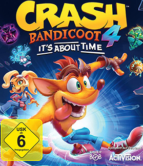 Crash Bandicoot 4 It's About Time Multiplayer Splitscreen