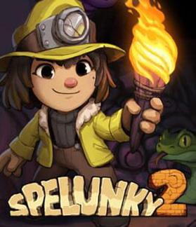 Spelunky 2 Multiplayer Splitscreen